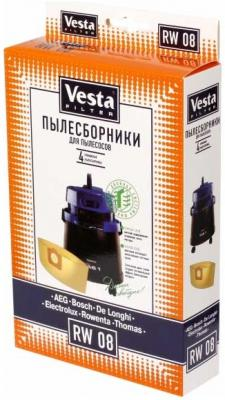 Комплект пылесборников Vesta RW 08 4шт цена
