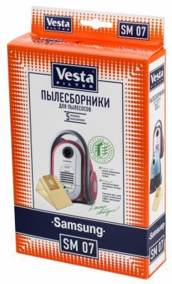 Комплект пылесборников Vesta SM 07 5шт комплект пылесборников vesta sm 09 5шт