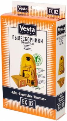 Комплект пылесборников Vesta EX 02 5шт комплект пылесборников vesta lg 02 5шт