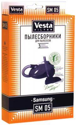 Комплект пылесборников Vesta SM 05 5шт комплект пылесборников vesta sm 09 5шт