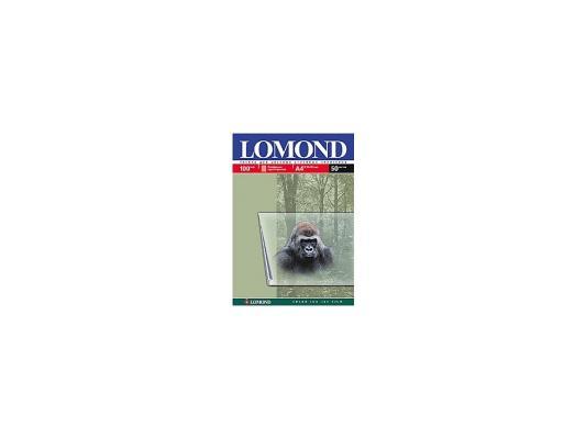 Пленка прозрачная Lomond А4 100мик 50шт 210х297 прозрачная 0708415
