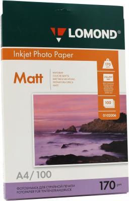 Бумага Lomond A4 170г/кв.м Matte Double Sided [0102006] 100л