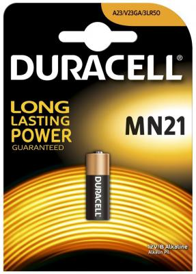 Батарейка Duracell MN21 A23 1 шт батарейка алкалиновая для сигнализаций duracell тип mn21 1шт