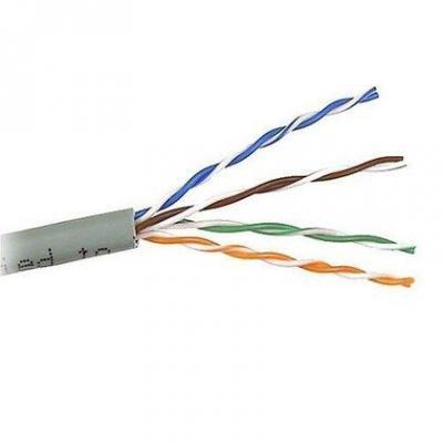 Кабель Lanmaster UTP level 5E 4 пары PVC 200 MHz серый 24AWG 305м LAN-5EUTP-GY