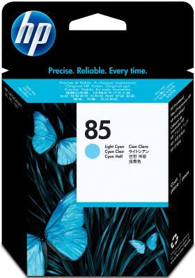 Картридж HP C9423A для DeskJet 130 светло-голубой картридж для принтера hp c8767he 130 black inkjet print cartridge