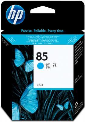 Картридж HP C9425A №85 DeskJet 30/130 голубой картридж hp c9425a