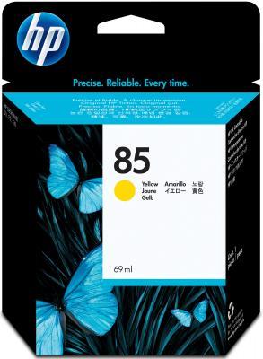 Картридж HP C9427A №85 DeskJet 30/130 желтый мфу hp deskjet ink advantage 5275