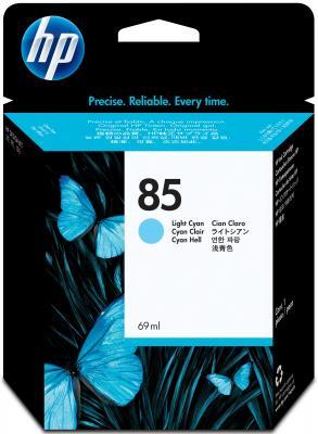 Картридж HP C9428A №85 для DeskJet 30/130 светло-голубой 69мл картридж hp c9429a 85 deskjet 30 130 светло пурпурный