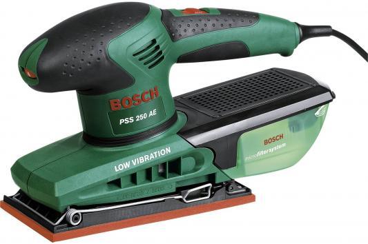 Виброшлифмашина Bosch PSS 250 AE 250Вт