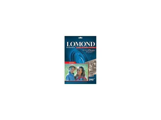 Бумага Lomond A4 290г/кв.м Satin Paper 1108200 20л бумага цв а4 20л 10цв хобби тайм 2 вида