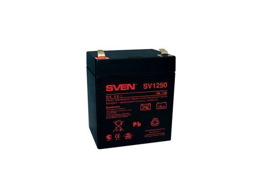Батарея Sven SV12-5 (SV1250) батарея sven sv1272 12v 7 2ah