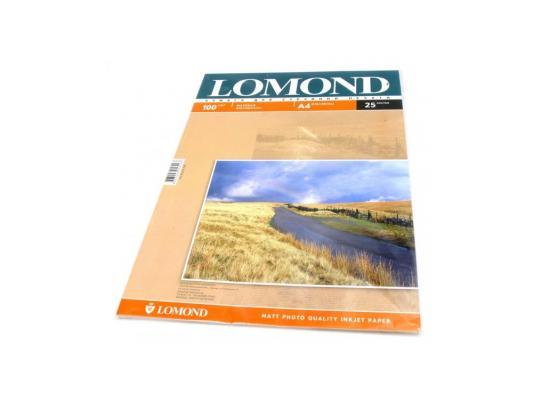 Бумага Lomond A4 100г/кв.м Matte Double Sided [0102038] 25л