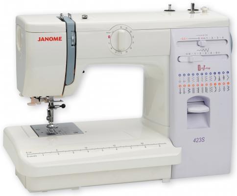 Швейная машина Janome 423S швейная машина janome sew line 500 s