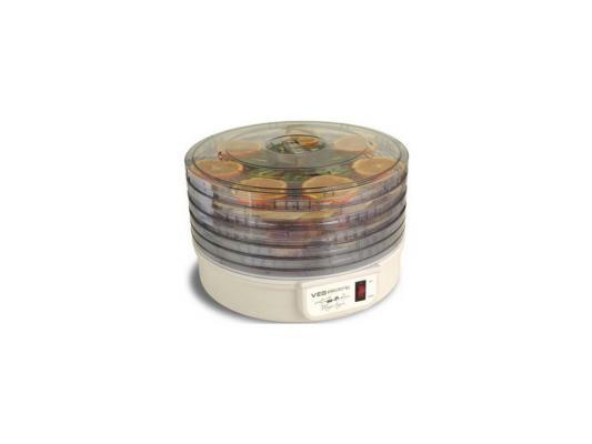 Универсальная сушилка VES VMD-1 300Вт 5 съемных секций сушилка для овощей ves vmd 4