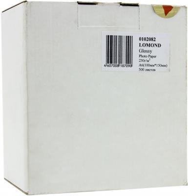 Бумага Lomond 10*15 230г/кв.м Glossy Paper [0102082] 500л