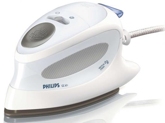 Утюг Philips GC 651/02 800Вт дорожный белый