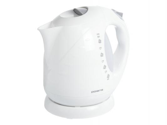Чайник Polaris PWK 2013С 2000 Вт белый жёлтый 2 л пластик