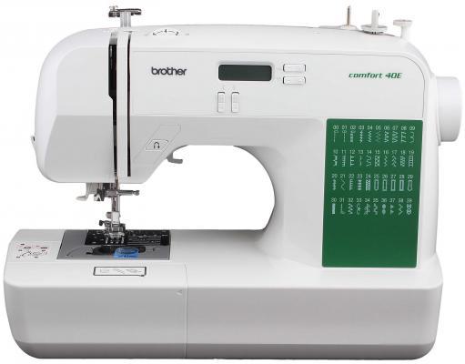 Швейная машина Brother Comfort 40E бело-зеленый цена