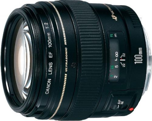 Объектив Canon EF 100mm F2.0 USM 2518A012 объектив canon ef 100mm 2 8l is usm macro 3554b005