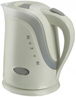 Чайник VES Electric 1017 2200 Вт белый 2 л пластик электрический чайник ves ves 1017 ves 1017