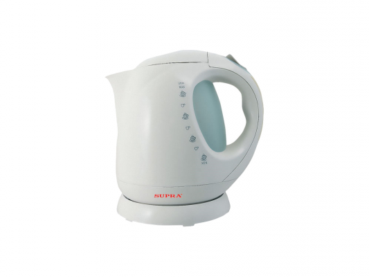 Чайник Supra KES-2001 2000 Вт чёрный 2 л металл/стекло чайник электрический supra kes 1705 beige