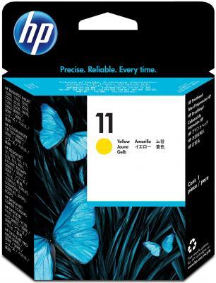 Печатающая головка HP C4813A № 11 желтая для СР 1700/2600/1100 серии officejet 9110/20/30