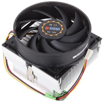 Кулер для процессора Titan Data Cooler DC-K8M925BR2 Socket 754/S939/AM2  Phenom ready 109W 93x93 Ball PWM алюм+медь
