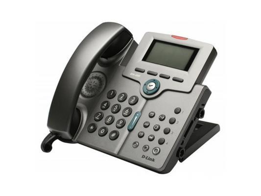 Телефон VoIP D-LINK DPH-400S 2x10/100Mbps LCD display (SIP v.2)