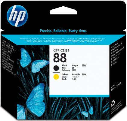Картридж HP C9381A № 88 inkjet Officejet Pro K550/ K550dtn/ K550dtwn печатующая головка черный желтый
