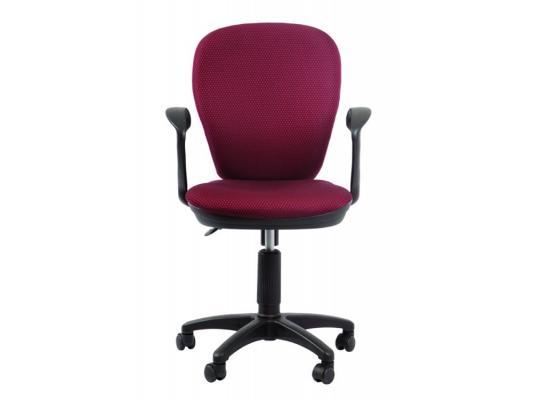 Кресло Buro CH-513AXN/#CH темно-красный JP-15-6