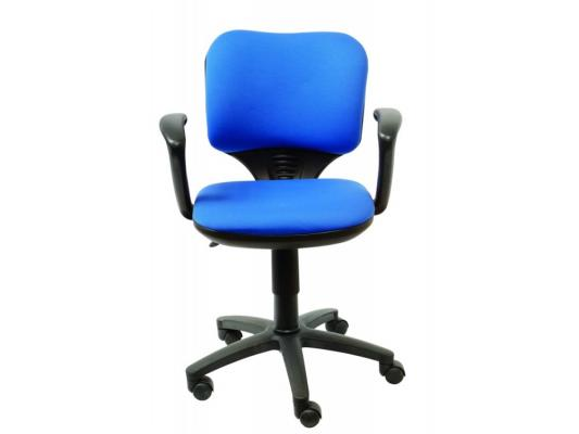 цена на Кресло Buro CH-540AXSN-LOW/26-21 низкая спинка синий 26-21