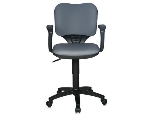 Кресло Buro CH-540AXSN-LOW/26-25 низкая спинка серый 26-25