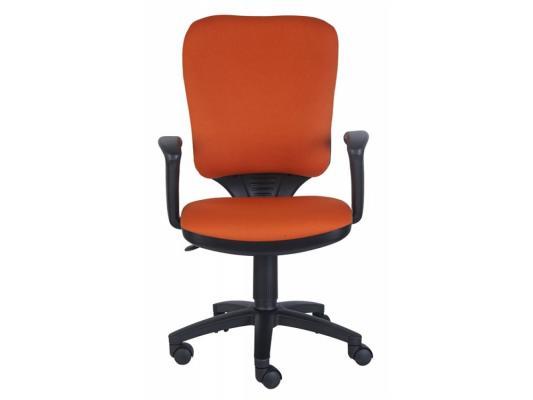 Кресло Buro CH-540AXSN-LOW/26291 низкая спинка оранжевый 26-29-1