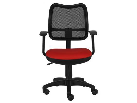 Кресло Buro CH-797AXSN/26-22 спинка сетка черный сиденье красный 26-22 подлокотники T-образные кресло бюрократ ch 797axsn красный