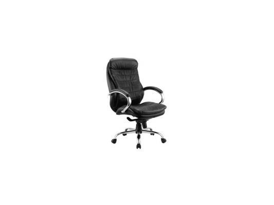 Кресло Buro T-9950AXSN/Black кожа черный