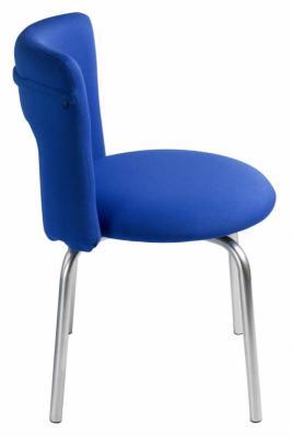 Стул Бюрократ KF-1/INDIGO26-21 вращающийся синий 26-21 стул бюрократ kf 1 на ножках ткань черный [kf 1 black26 28]