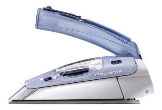 Утюг Rowenta DA 1510F1/F2 1000 Вт подача пара 10 г/мин пар. удар 45 г/мин дорожный голубой