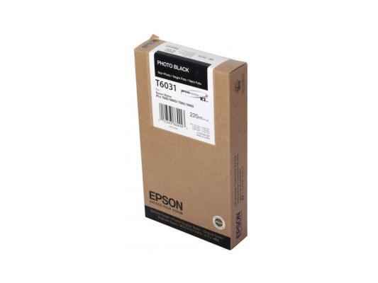 Картридж Epson C13T603100 для Epson Stylus Pro 7800 9800 7880 9880 черный