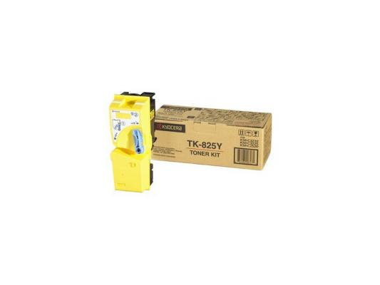 Картридж Kyocera TK-825Y для KMC2520 C3225 C3232 желтый 7000стр new original kyocera 2gr17120 lamp scanner for km 4050 5050 c3225 c3232