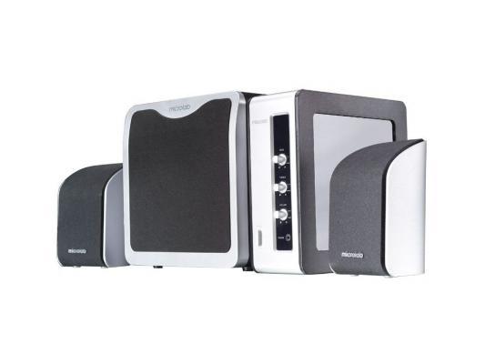 Колонки Microlab FC360, 54w RMS, Black-Silver