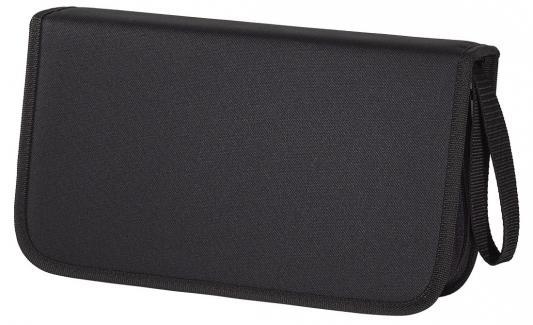 Фото - Портмоне HAMA для 104 CD черный H-11617 монокуляр hama optec 10 x 25 roof черный [00002808]