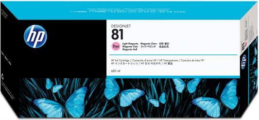 все цены на Картридж HP C4935A №81для для DesignJet 5000/5500 светло-пурпурный