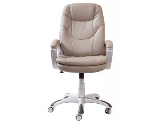 Кресло Buro CH-868SAXSN/GREY пластик серебристый искусственная кожа серый