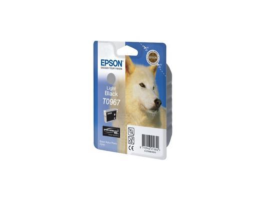 Купить Картридж Epson C13T09674010 для Epson Stylus Photo R2880 светло-черный