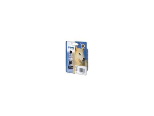 Картридж Epson C13T09684010 T0968 для Epson Stylus Photo R2880 матовый черный цена и фото