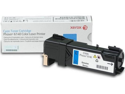 Картридж Xerox 106R01481 для Xerox Phaser 6140 голубой 2000стр