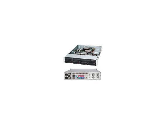 Серверный корпус 2U Supermicro CSE-825TQ-R720LPB 720 Вт чёрный