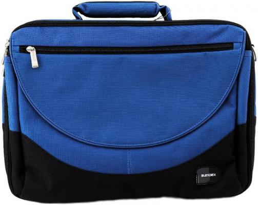 Сумка для ноутбука 15 Sumdex PON-302NV Blue нейлон-полиэстер сумка для ноутбука 15 sumdex pon 100 нейлон полиэстер черный