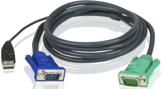 Кабель ATEN 2L-5202U кабель для электронных квм переключателей aten 2l 5202u