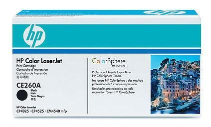 Картридж HP CE260A для CLJ CP4525 черный 8500стр картридж sakura ce260a